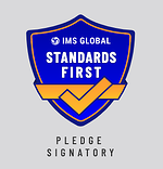 IMS Pledge Signatory Standards First Logo